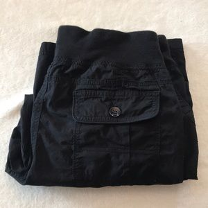 Calvin Klein Black cargo capris size large